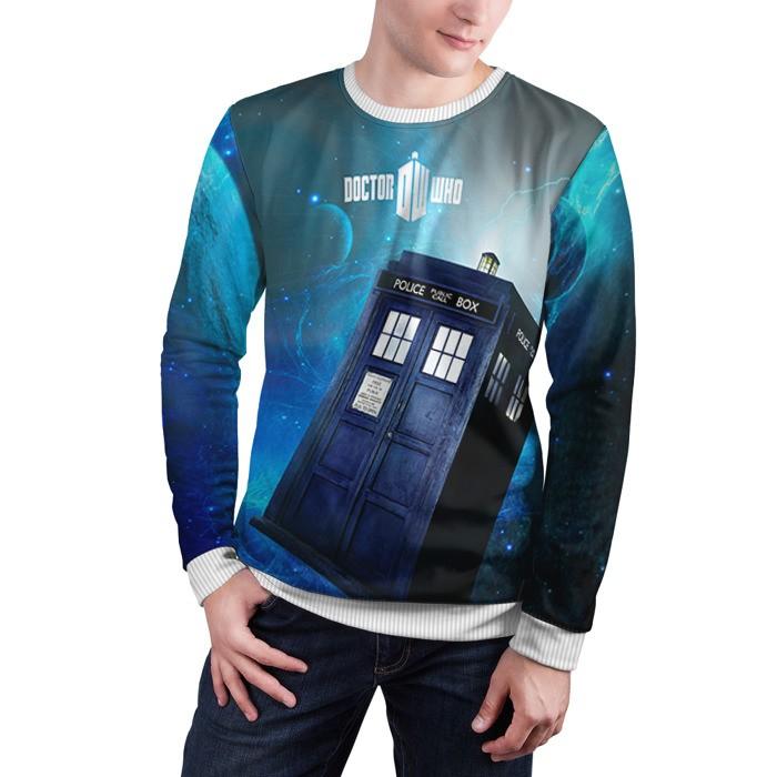 Merchandise Sweatshirt Tardis Doctor Who Merchandise