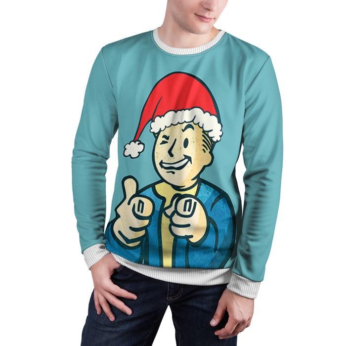 Collectibles Sweatshirt Christmas Vault Boy Fallout