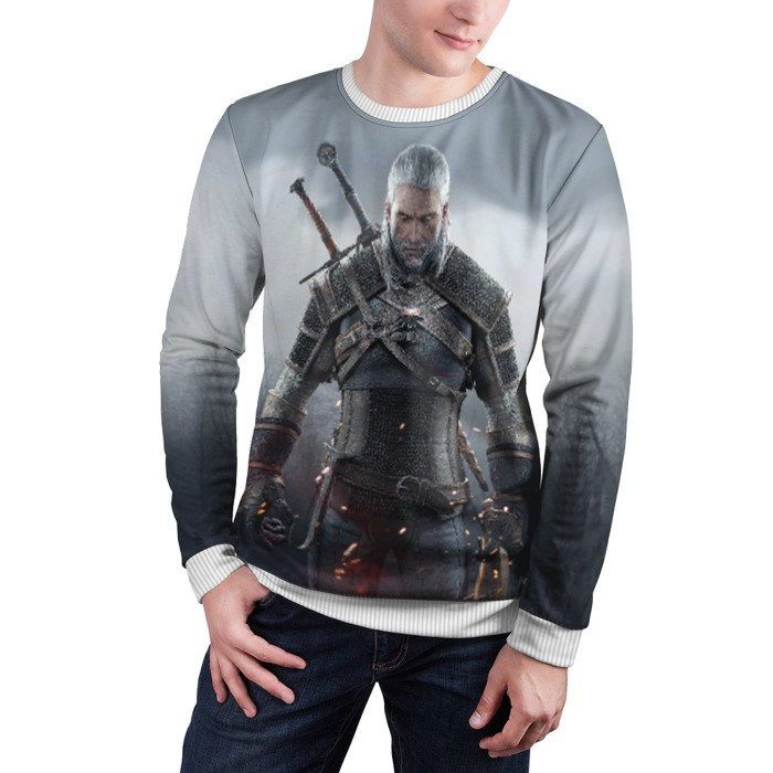 Merch Sweatshirt The Witcher Geralt Merchandise