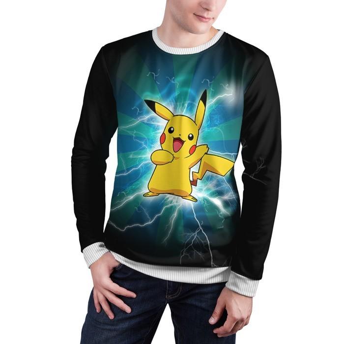 Collectibles Sweatshirt Flash Pikachu Pokemon Go