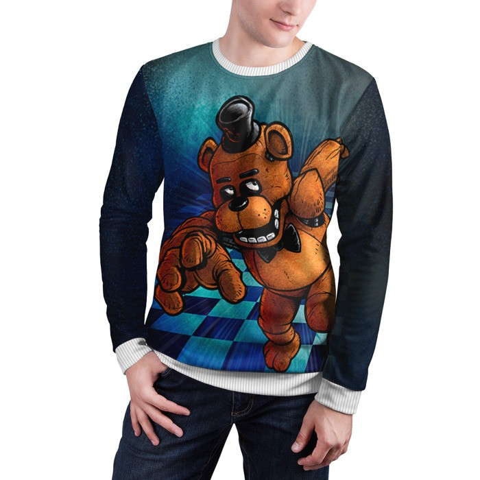 Merch Sweatshirt Five Nights At Freddy'S Freddy Fazbear Apparel