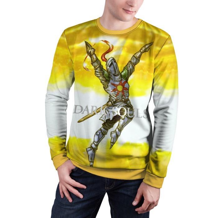 Collectibles Sweatshirt Dark Souls 9 Yellow Art