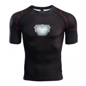 Buy Rashguard t shirt: Tony Stark Iron man Reactor 2018 Infinity War merchandise collectibles