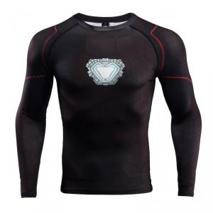 Buy Rashguard long sleeve: Iron man Reactor 2018 Mark Armor merchandise collectibles