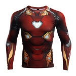 Buy Rashguard long sleeve: Iron man Reactor 2018 Mark Armor merchandise collectibles