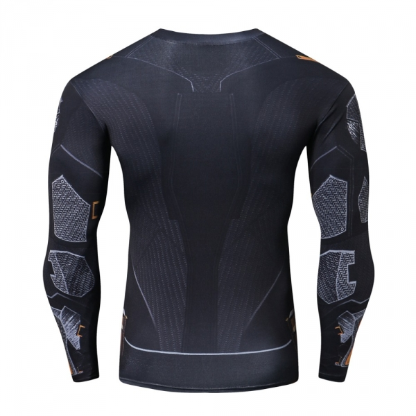 Raglan Sleeve 2018 NEW Iron Batman 3D Printed T shirts Men Fitness Shirts Crossfit Tops For Male Cosplay Costume Clothing 2