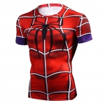 New 2018 Top Quality Compression T-Shirts Superman/Batman/Spider Man/Captain America T Shirt Men Fitness Shirts Men T Shirts 4