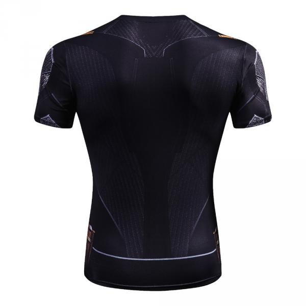 Mens Fashion T Shirt Men Compression Shirt Iron Batman Superman  Black Panther 3D Print T-Shirt Superhero Crossfit T Shirt 2
