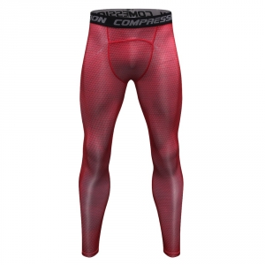 Men Pants 2018 New Compression Pants Brand Clothing Base Layer Tights Exercise Fitness Long Leggings Trousers Leisure Pants Man 1
