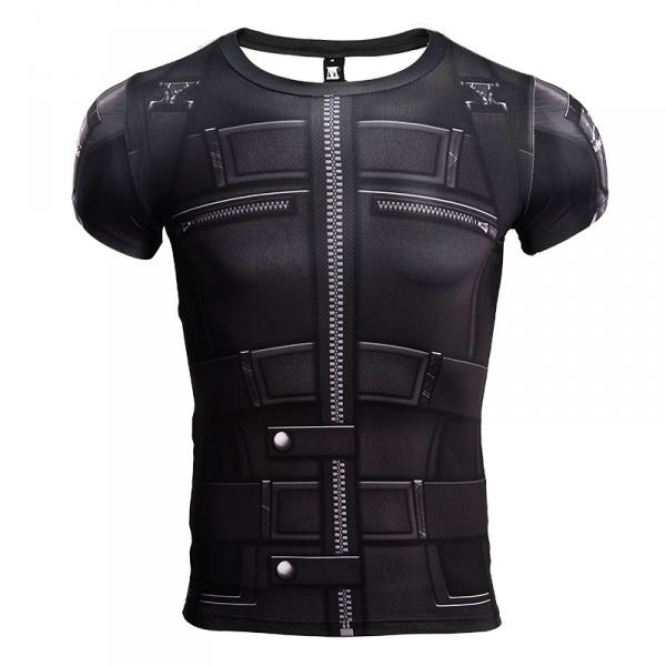 T shirt Women Black Widow 3D Printed Compression Shirt Avengers 3 Short Sleeve Crossfit Top Female 2018 Cosplay Costume For Lady