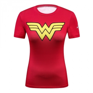 2018 High quality Women T-shirt Bodys Marvel costume Superman T Shirt Long Sleeve Girl Fitness Tights Compression tshirts 1