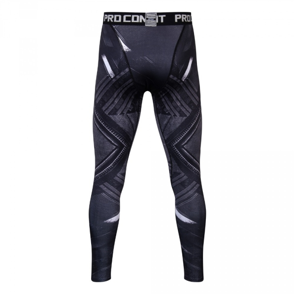 Black Panther 3D Mens Workout Fitness Leggings Elastic Pants Bottom Crossfit Weight Lifting Bodybuilding Leggin Male SkinTrouser 1