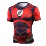 Flash Tshirts Men Compression Shirts Tops The Flash T-Shirts Fitness Crossfit Tees Bodybuilding Camiseta Rashguard 2018 1