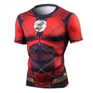 Flash Tshirts Men Compression Shirts Tops The Flash T-shirts Fitness Crossfit Tees Bodybuilding camiseta rashguard 2018 1