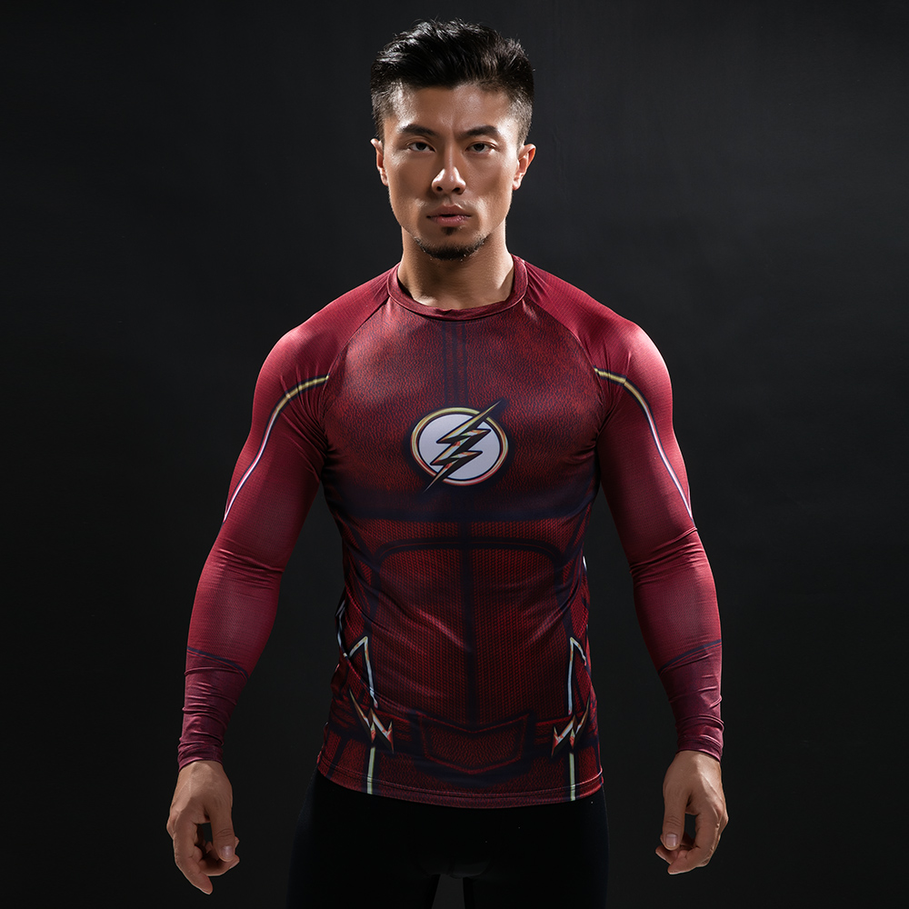 Buy Long sleeve rash guard: Flash Workout Cloth for GYM 2018 Gear merchandise collectibles