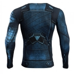 Winter Soldier 3D Printed T Shirts Men Avengers 3 Compression Shirt 2018 Cosplay Costume Long Sleeve Crossfit Fitness Tops Male 4
