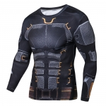 Raglan Sleeve 2018 New Iron Batman 3D Printed T Shirts Men Fitness Shirts Crossfit Tops For Male Cosplay Costume Clothing 1