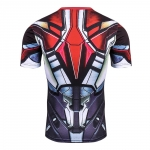 2018 Cool Ironman Advanced 3D Male Print Compression Shirt Slim Fit Skins Tight Men'S Bodybuilding Crossfit Champion Shirt  2