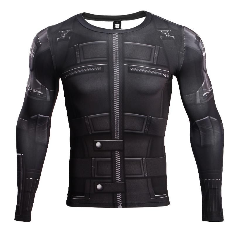 Buy Rash guard: Black Widow Costume Gear Infinity War 2018 Long sleeve merchandise collectibles