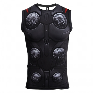 Avengers 3 Thor 3D Printed T shirts Men Compression Shirts Cosplay Costume 2018 Summer NEW Crossfit Tops For Male Clothing 1