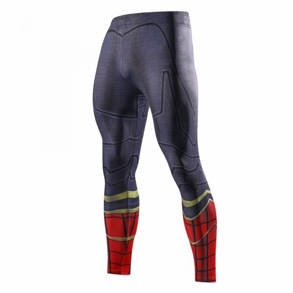 2018 Latest black panth Men Skinny Pants 3D Pattern Black Panther Bodybuilding Jogger Fitness Skinny Compression tights 5
