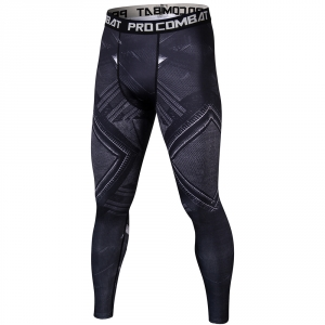 Black Panther 3D Mens Workout Fitness Leggings Elastic Pants Bottom Crossfit Weight Lifting Bodybuilding Leggin Male SkinTrouser