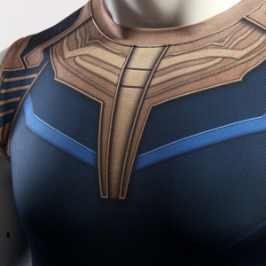 Avengers 3 Thanos 3D Printed T shirts Men Compression Shirts Cosplay Costume 2018 Summer NEW Crossfit Tops For Male Clothing 1