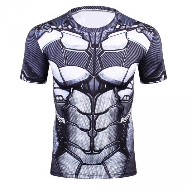 d539442285a Batman 3D Printed T shirts Men Compression Shirt 2017 New Batman Cosplay  Short Sleeve Crossfit Tops