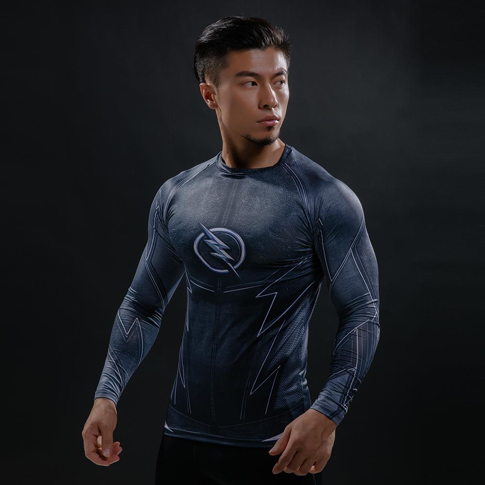 Buy Long sleeve rash guard: Professor Zoom Black Dark Flash 2018 merchandise collectibles