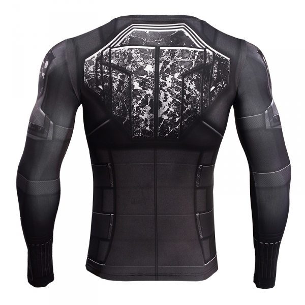 Tshirt Women Black Widow 3D Printed Compression Shirt Avengers 3 Long Sleeve Crossfit Top Female 2018 Cosplay Costume For Lady 4