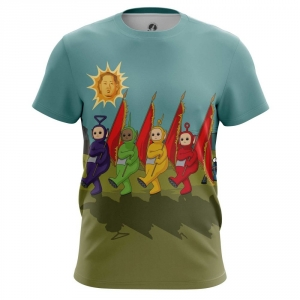 Buy Mens T shirt Sun Teletubbies Kim Jong Un North Korea merchandise collectibles