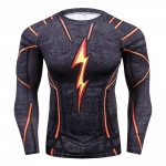 Compression Shirt, Men'S Health 3 D Printing Spiderman T-Shirt Raglan Long-Sleeved Clothes Heat Joined More Than 2018  Men 4