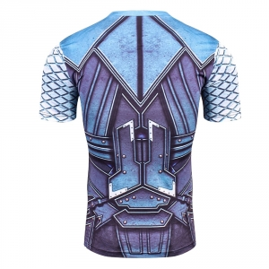 Thor 3D Printed T shirts Men Compression Shirt New Cosplay Short Sleeve Male Crossfit Fitness BodyBuilding Man Base Tops Tee 2