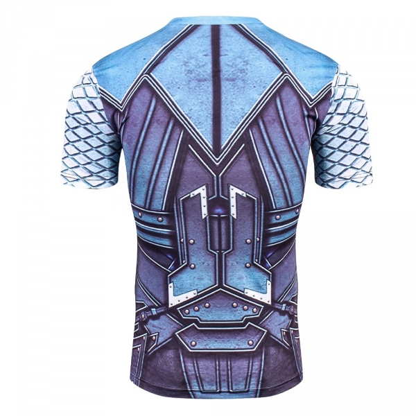 Buy T shirt Rash guard Mens: Thor Workout Gear for GYM Cloth 2018 merchandise collectibles