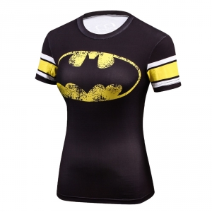 2018 New Cool Style DC Comics Superhero Wonder Women T Shirts 3D Printed Bodybuilding Brand T-shirt Ladies Compression Tops 1
