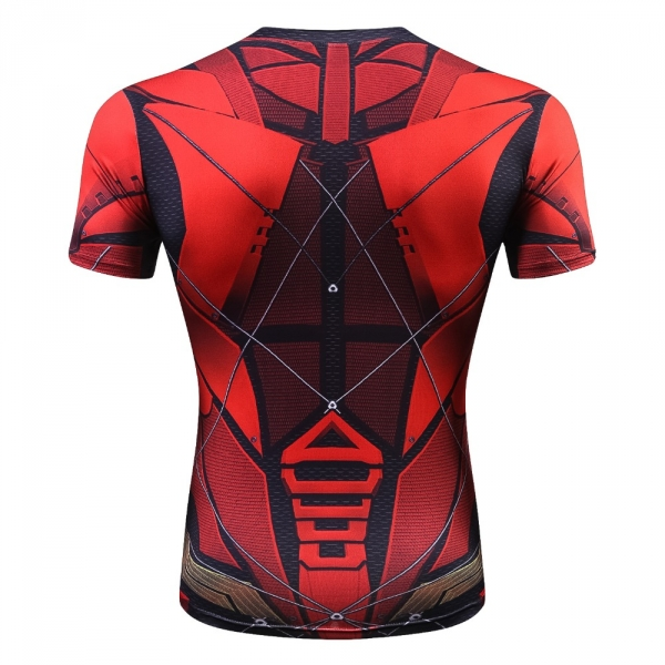 Raglan Sleeve Compression Shirts Avengers 3 Iron Man 3D Printed T shirts Men 2018 Summer NEW Crossfit Top For Male Fitness Cloth 5