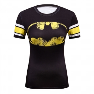 2018 New Cool Style DC Comics Superhero Wonder Women T Shirts 3D Printed Bodybuilding Brand T-shirt Ladies Compression Tops