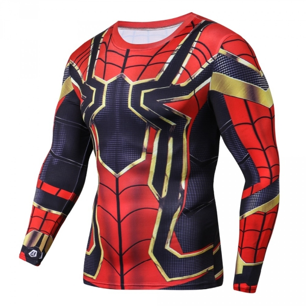 Raglan Sleeve 2018 NEW Iron Batman 3D Printed T shirts Men Fitness Shirts Crossfit Tops For Male Cosplay Costume Clothing 4