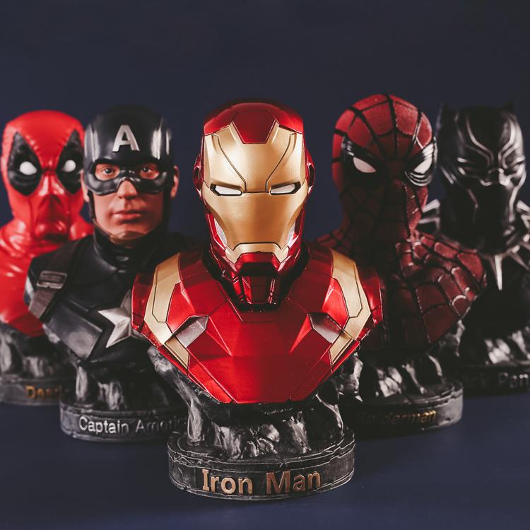 Merch Bust Deadpool Wade Wilson Figure Marvel Figures 17Cm