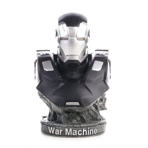 Buy Bust Figurine Iron Patriot Figure Marvel Figures sculpture 17cm Merchandise collectibles