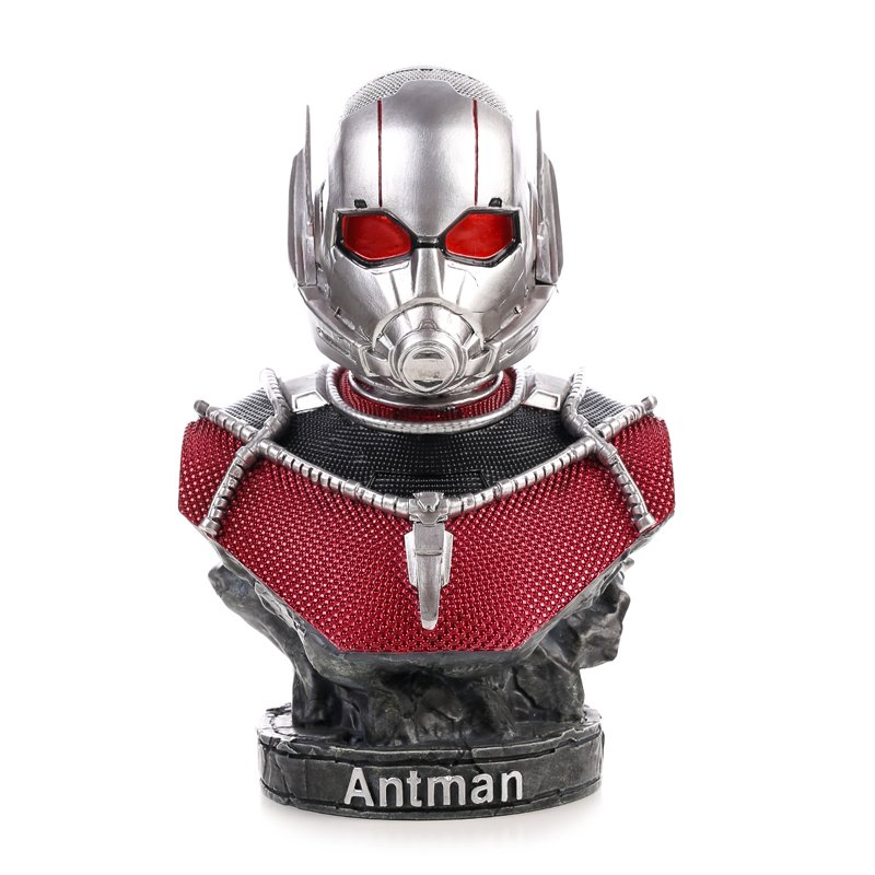 Buy Bust Figurine Ant man Figure Marvel Figures Sculpture 17cm merchandise collectibles