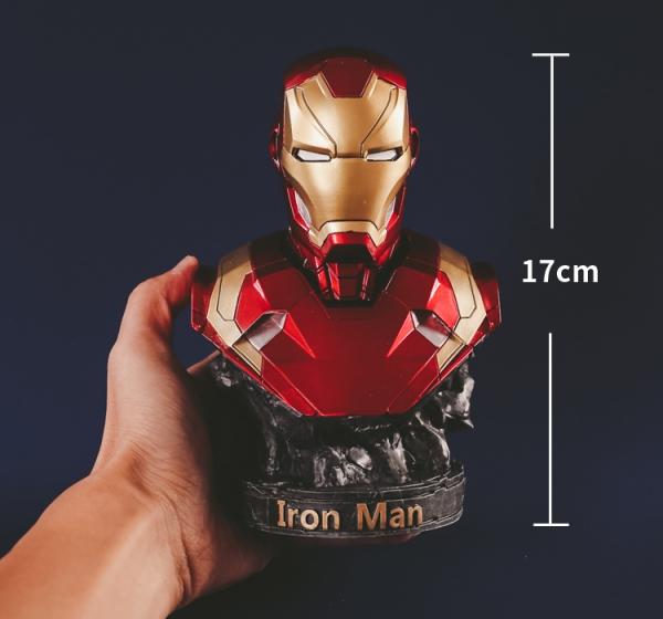 Buy Bust Figurine Deadpool Wade Wilson Figure Marvel Figures 17cm Merchandise collectibles
