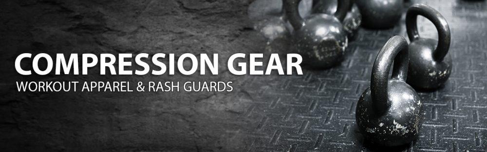 Rash guards & compression gear