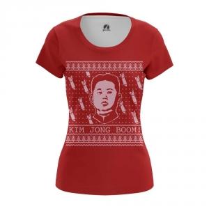 Buy Womens T shirt Rockets Kim Jong Un North Korea merchandise collectibles