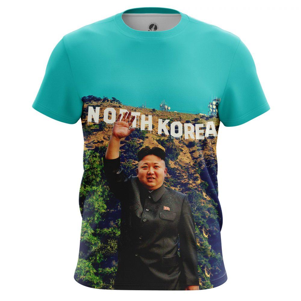 Buy Mens T shirt Kim Jong Un North Korea USA Fun merchandise collectibles