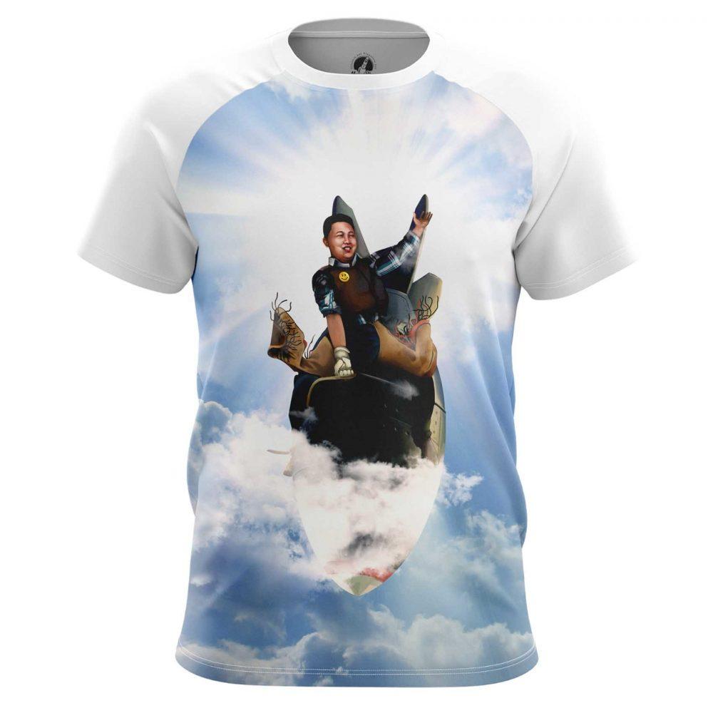 Buy Mens T shirt Rodeo Kim Jong Un North Korea merchandise collectibles