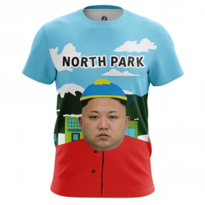 Buy Mens T shirt Cartman Kim Jong Un North Korea merchandise collectibles