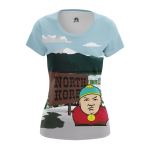 Buy Womens T shirt South Park Kim Jong Un North Korea merchandise collectibles