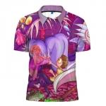Merchandise - Polo Shirt Rick And Morty World Universe Lady