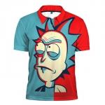 Merch - Polo Shirt Rick Wallpapers Rick And Morty Merch